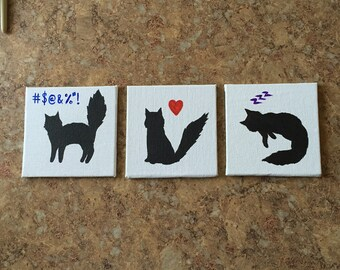 The cat magnets!
