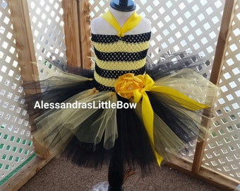 Ready to ship size  3t/4t halloween costume, Bumblebee tutu dress, bumblebee costume, baby's first halloween costume, halloween costumes