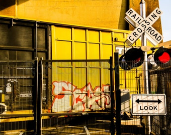 Bronx Railroad Crossing