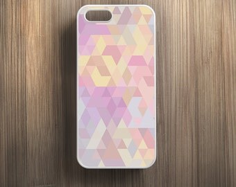 Pastel Pink Geometric Pattern. iPhone 4/4s, iPhone 5/5s, iPhone 5c, iPhone 6, iPhone 6 Plus Case Cover 051