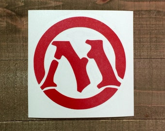 "Magic The Gathering MTG ""M"" Logo Decal"
