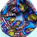Multi-Color Cotton African Print Infinity Scarf