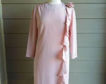 "Vintage 60s/70s ""Tea Party"" dress by Umba for Parnes Feinstein"