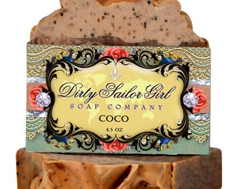 Coco Shea Butter Bath Bar