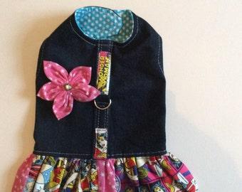 Denim Wonder Woman Harness Dress