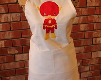 Super Hero Apron - Flash