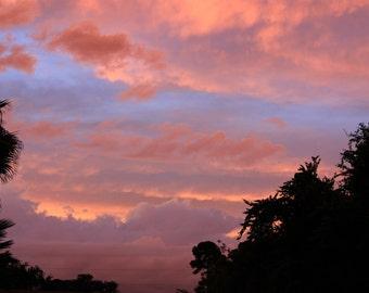 Red sky 0609