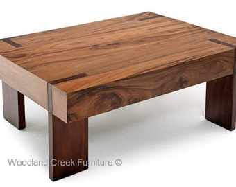 Modern Block Coffee Table