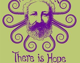Jules Verne Toddler Tee, Steampunk T-shirt, sci fi, Victorian, Famous Writer, Author, Book, Literature, Nerd, Geek, Nautical, 20,000 Leagues