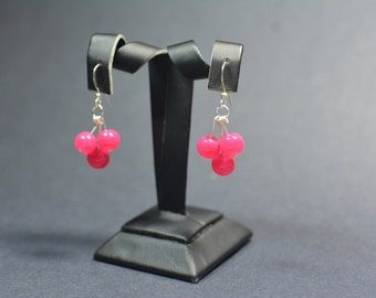 Cherry Charm Earrings