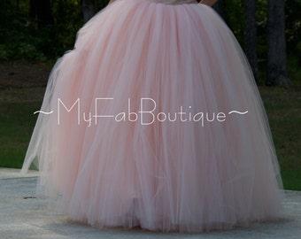 Floor length tulle skirt,bridal tutu skirt,Adult tulle skirt,Custom made Wedding dress MyFabBoutique! Ivory Wedding tulle skirt