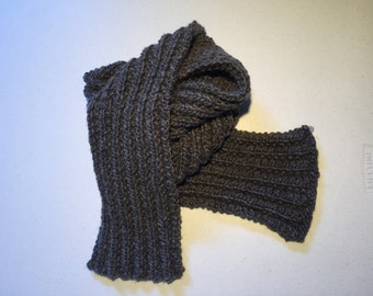 Charcoal Heather Scarf