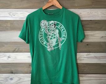 80's Boston Celtics Tee 50/50 1980's M/L