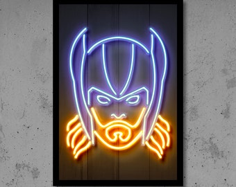 Neon Wall Art deadpool wall art deadpool nursery deadpool neon superhero