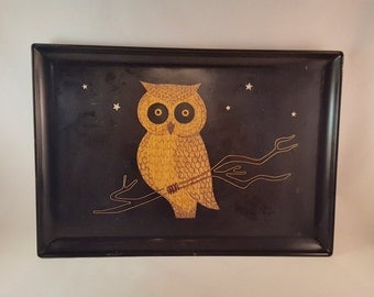 Owl Couroc Tray