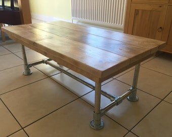scaffold plank small table coffee table all sizes made