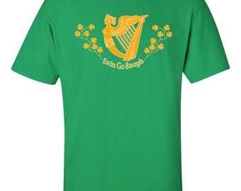 St. Patrick's Day T-shirt - Erin Go Bragh - Ireland Forever - Irish T-shirt