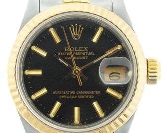 Ladies Rolex Datejust 2-Tone Watch