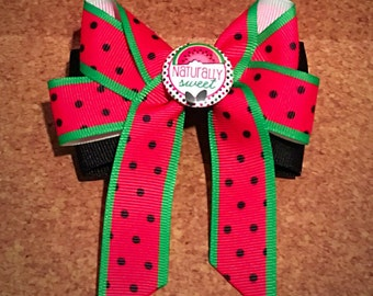 Naturally Sweet Watermelon Bow