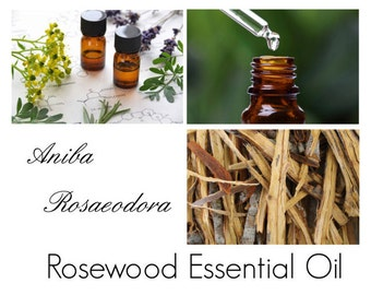 Rosewood Essential Oil, Bois de Rose Essential Oil, Brazilian Rosewood EO - 100% Pure Authentic Rosewood EO -- Renewable Sourced from Brazil