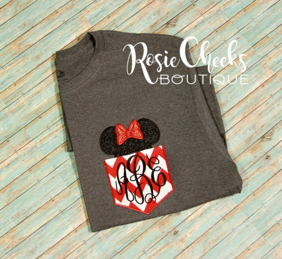 mickey mouse pocket tee minnie mouse pocket tee by rosiecheeksrcb