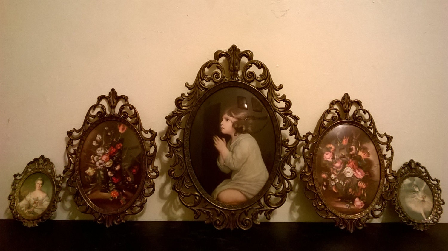 Antique italian ornate bubble glass picture frames read item antique italian ornate bubble glass picture frames read item description jeuxipadfo Image collections
