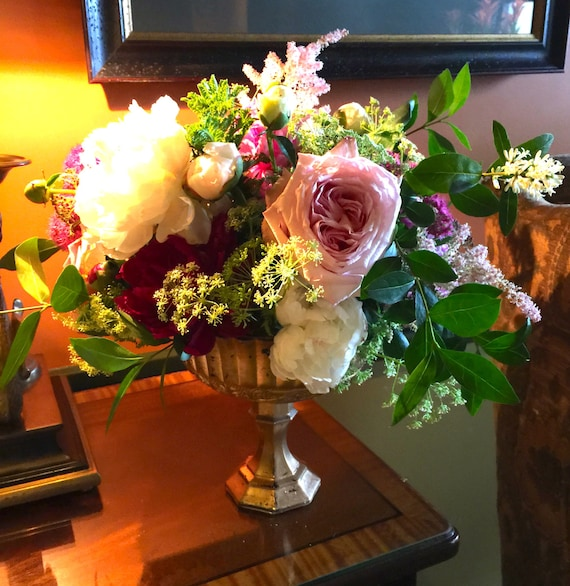 Beautiful footed vase weddings centerpiece centrepiece