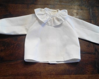 Baby cotton blouse