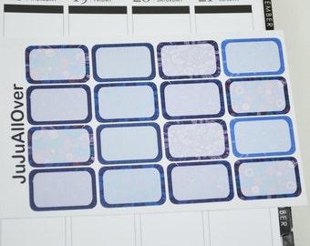 Midnight Paisley Kit: 16 half boxes
