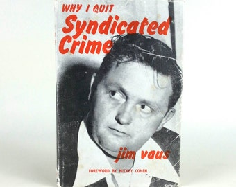1960s Gangster - Why I Quit Syndicated Crime by Jim Vaus religious funny title curated