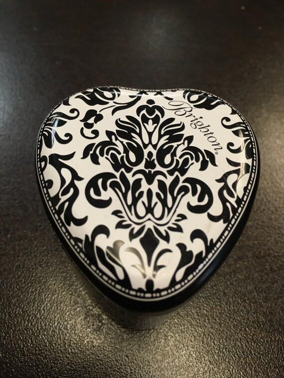 Brighton heart shaped box cute ring box gift jewelry box for Heart ring box