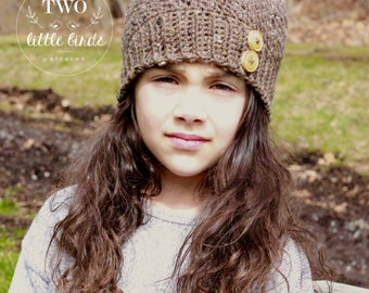 Crochet Pattern, HARPER BEANIE, crochet hat pattern, crochet beanie pattern, sizes toddler, child, and adult