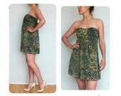 90s babydoll dress floral vintage