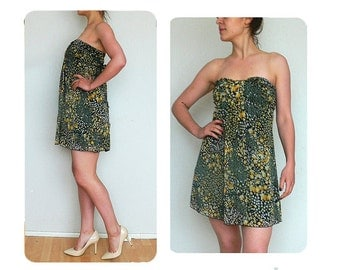 90s babydoll dress floral vintage