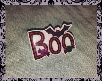 Boo - Halloween Candy Pin