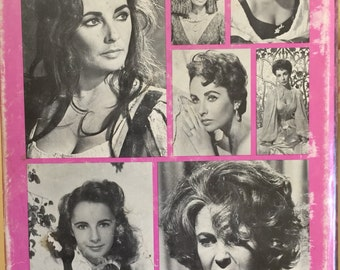 First Edition Hard Cover Book the films of Elizabeth Taylor