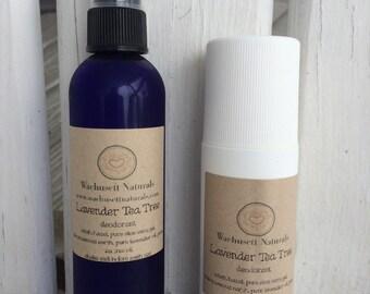 All Natural Lavender Tea Tree Deodorant