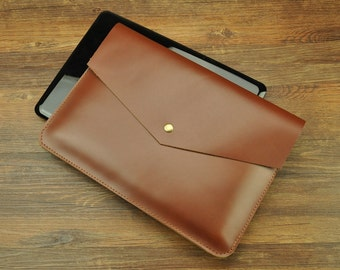 Leather MacBook Case, 2016 MacBook Pro Sleeve Bags, Personalized MacBook Retina Covers, Custom All kinds of Laptops. Personalized Laptop