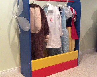 Dress Up Bin - Primary Colours