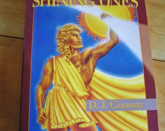 Vintage The Ancient and Shining Ones Book by D.J. Conway 1994