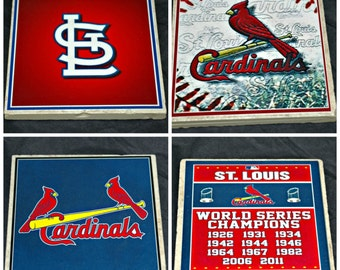St. Louis Cardinal Coasters - Baseball is Back!