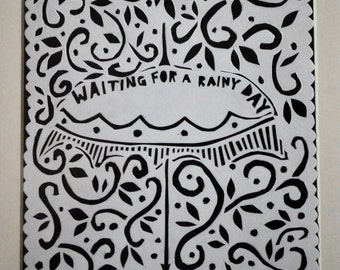 Waiting for a Rainy Day Print