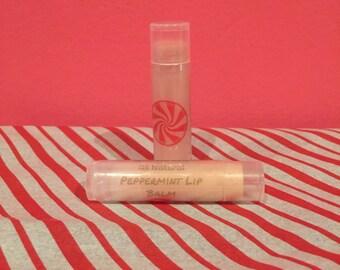 All Natural: Peppermint Lip Balm