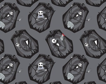 The Nightmare Before Christmas - The Pumpkin King Fabric - Iron - by Camelot Fabrics