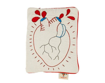 """Cover Tablet iPad """"Beating heart"""""""