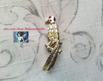 Bird Brooch Pin  B#505