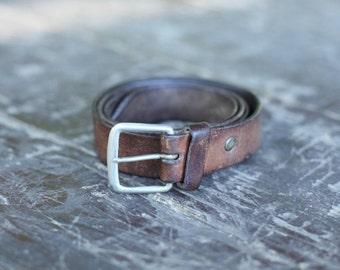 Vintage Military Leather belt