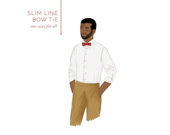 Bow Tie printable sewing pattern