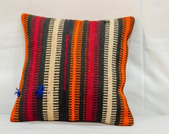 Rug cushion cover 16 x 16 ich (40 cm x 40 cm)
