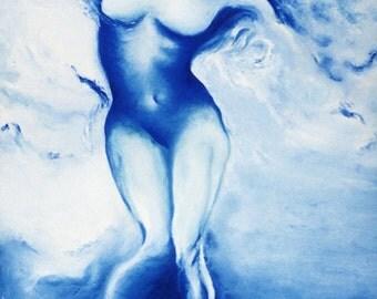 original oil painting female nude picture